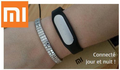 Xiaomi Mi Band : ce bracelet qui ne me quitte plus...