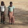 Burkina Visite de gamines