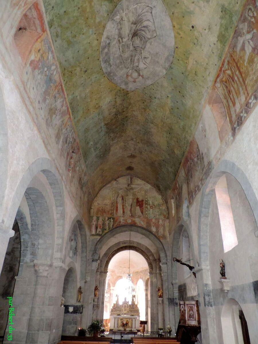 Lavaudieu  l'abbaye Saint André (43)