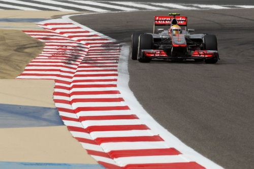 GP Bahrein : Qualifications - Hamilton 2°, Button 4°