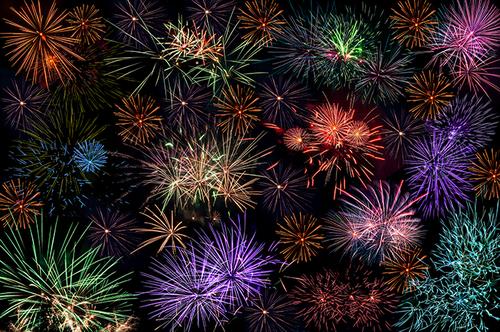 images feux d'artifices