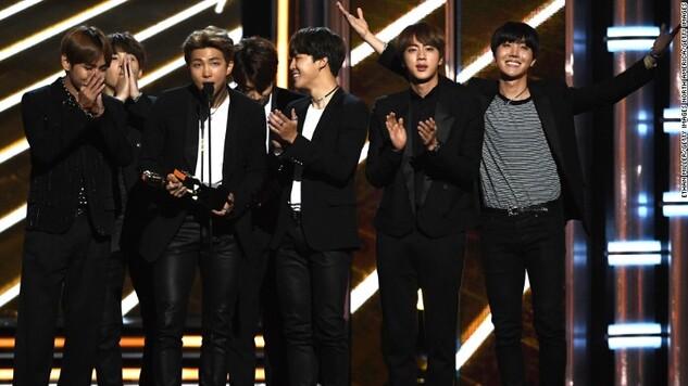 """Bts remportent au Billboard le prix du """"Top social Artist"""""""
