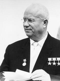 Nikita Khrouchtchev en 1963.