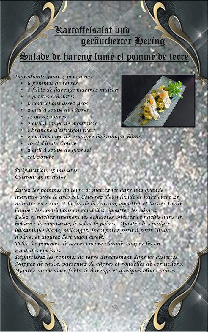 pomme de terre au hareng fumé