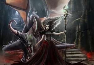 Hidden stars - Fantasy witch