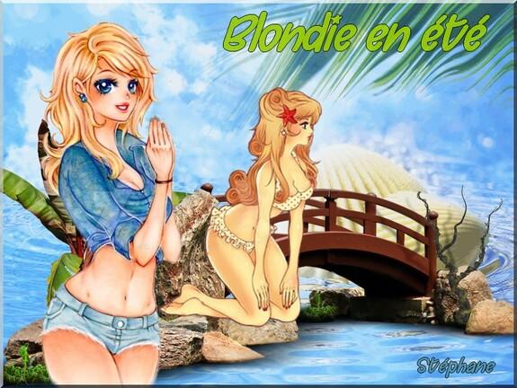 Blondie en été ,