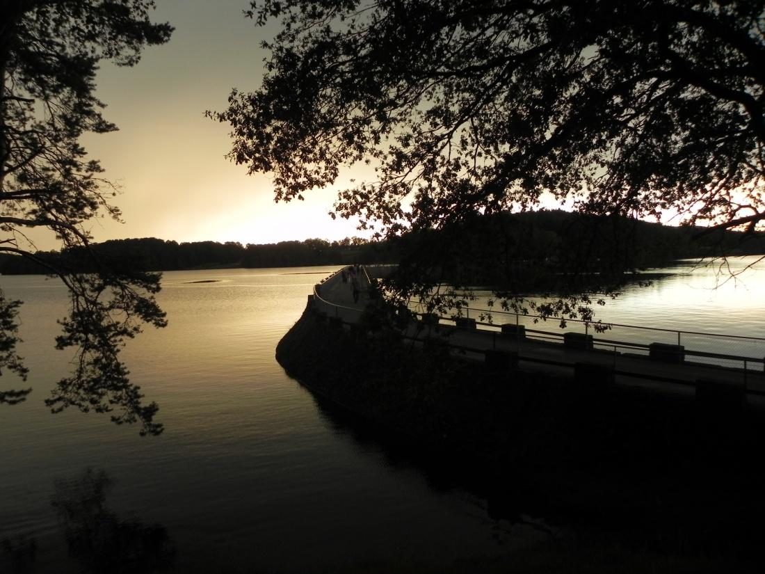 couchers de soleil à Vassivière