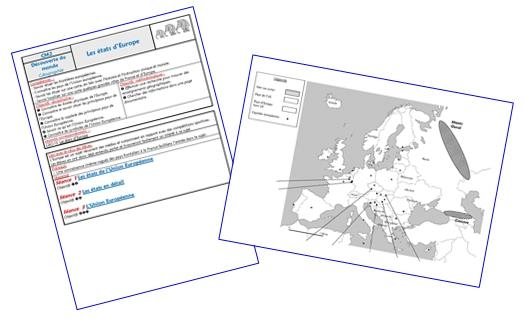 Les états d'Europe (séquence complète)