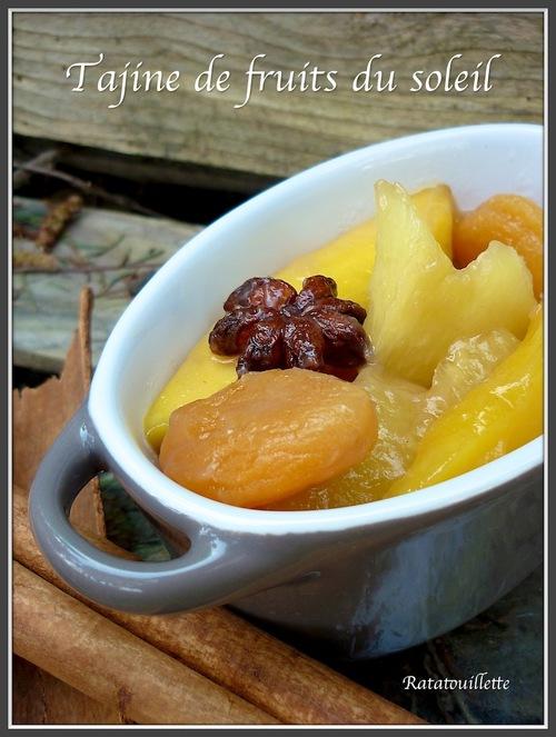 Tajine de fruits du soleil