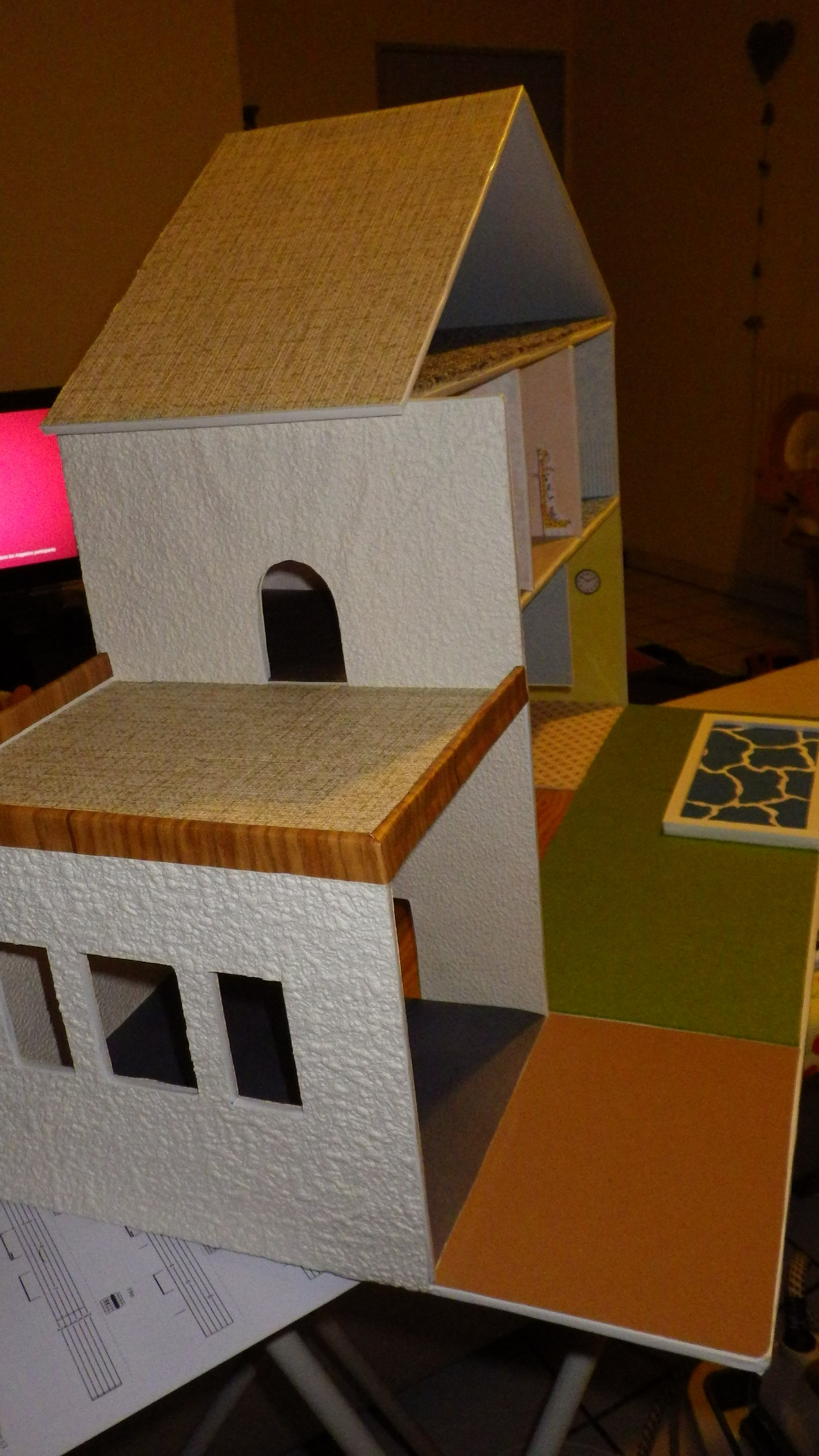 Comment faire une maison playmobil en carton simple with comment faire une maison playmobil en - Comment faire une maison en carton ...