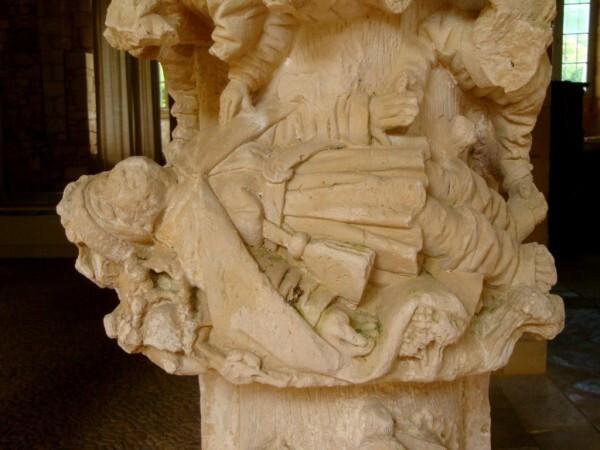 La mort de Lazare (détail)