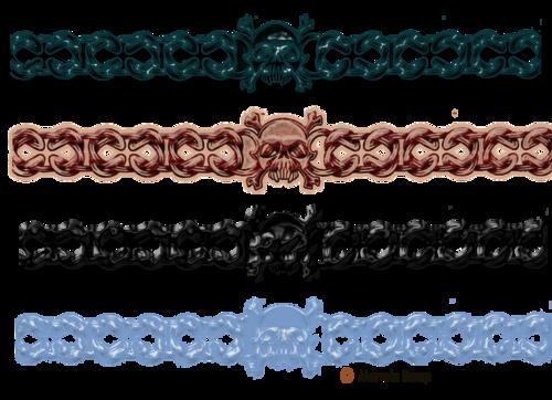 barre de séparation gothique page 3