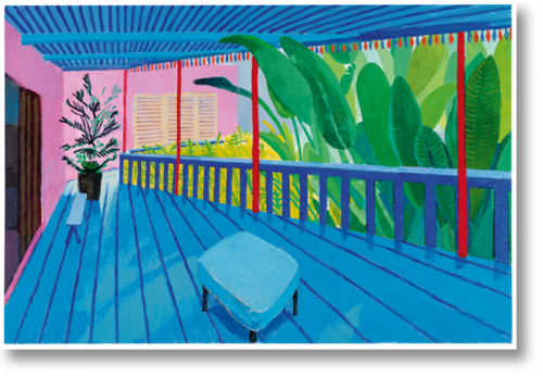 L'expo. David Hockney