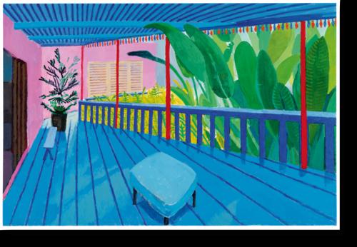 L'expo. David Hockney