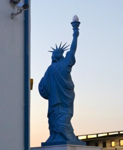 statue liberté Blois 5