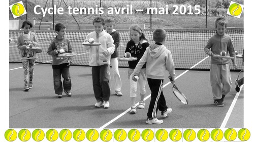 Cycle tennis - avril / mai 2015