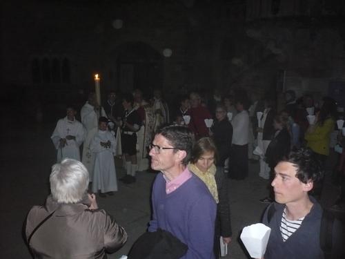 Vigile Pascale à Rocamadour