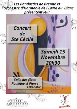 A venir : concert ste Cécile avec les Bandastics de Brenne