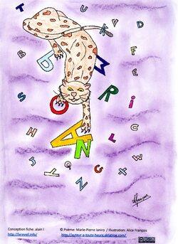 Jeux de mots sur le son /r/ avec l'Eveil - rat- hérisson - panthère
