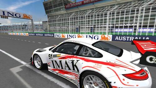 Team AMAC Motorsports Porsche 997 GT3