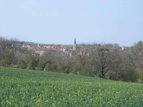 Vue générale de Baigneux