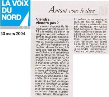 03 30 2004 Retour au PS