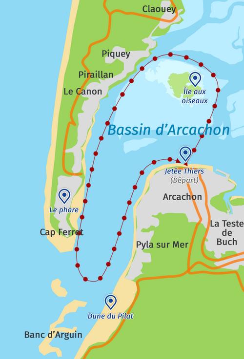 Balade dans le bassin d'Arcachon - 2017