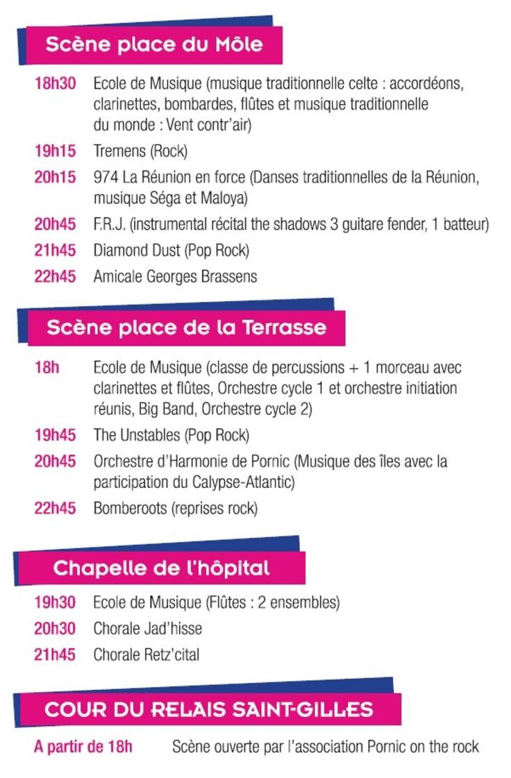 Fête de la Musique à Pornic 2013