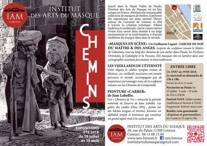 Cet été à l'Institut des Arts du Masque à Limoux...