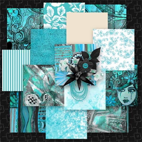 Turquoise World de Desclics