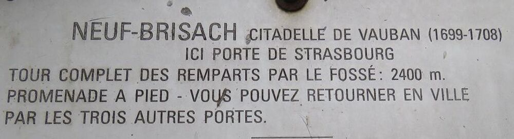 Neuf Brisach en Alsace - 2