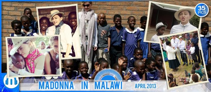 Madonna au Malawi - April 2013 - 01