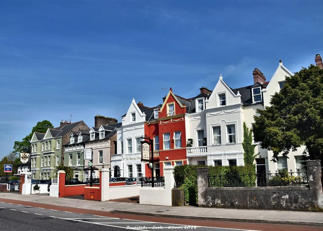 Maisons colorées de Cork - Irlande