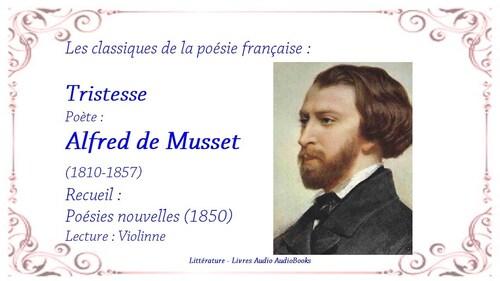 MUSSET, Alfred de - Adieu  (Rêveries et Poésie)