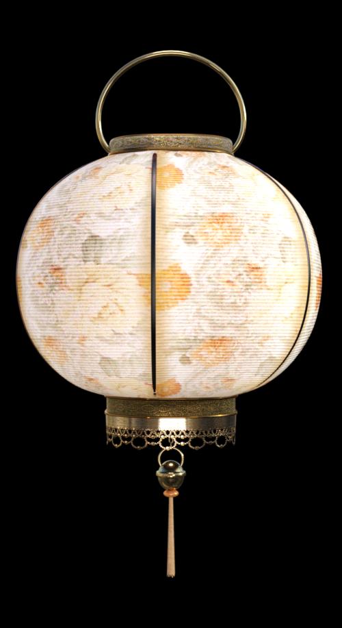 Tube de lanterne orientale (image-render)