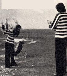 Sheila dans le golf persiste...