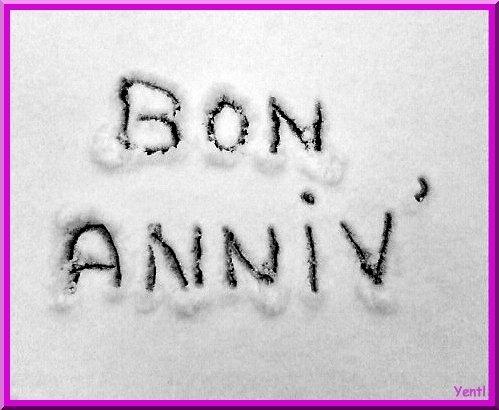 Bon Anniv