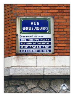 Les rues de Paris sont un sujet inépuisable!