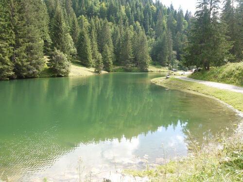 Toujours le lac de la Fontaine