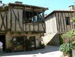Les maison moyenâgeuse de Puycelci