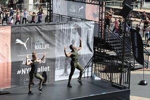 dance ballet class outdoor ballet puma campaign ballet