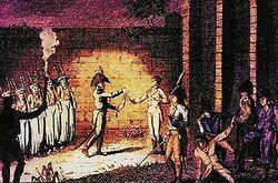 L'exécution du duc d'Enghien - 1804