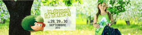 Nettoyons la nature!