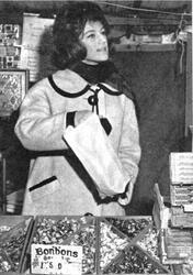 Sheila à l'ecole des marchés