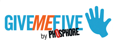 "A découvrir : l'application ""Give me five"" du magazine ""Phosphore"""