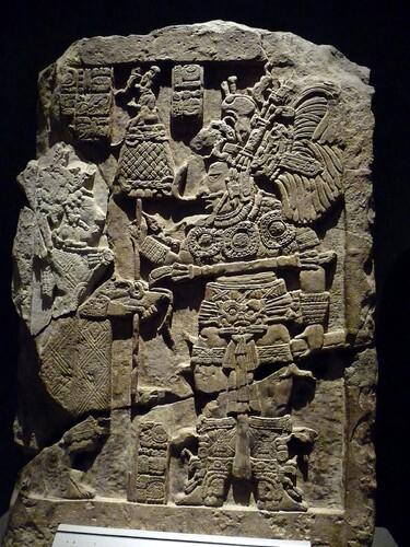 Musée Mexico bas-relief maya