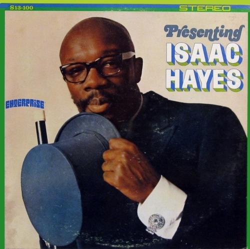 "Isaac Hayes : Album "" Presenting Isaac Hayes "" Enterprise Records S13-100 [ US ] en 1967"