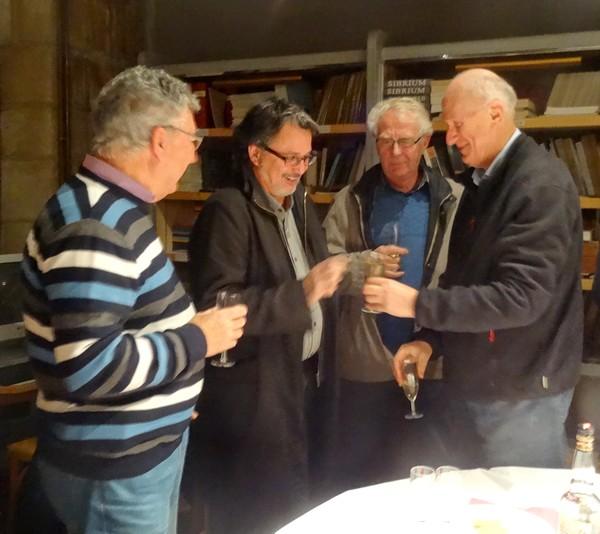 La Société Archéologique et Historique du Châtillonnais, (la SAHC) a remercié les adhérents bénévoles de l'Association pour leur aide lors du colloque sur Vix...