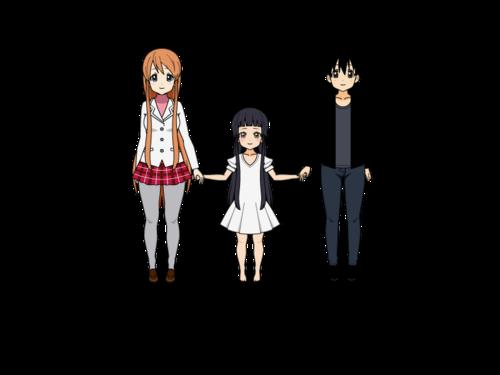 [ SAO ] Asuna, Yui et Kirito