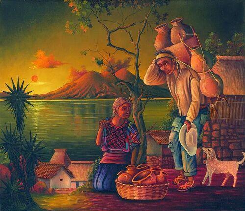 Pedro Rafael Gonzalez Chavajay, l'art contemporain Maya